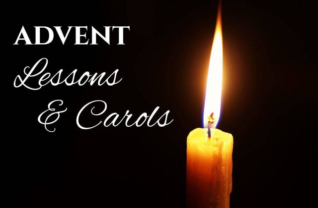 Pacific Hills' annual service of Advent Lessons and Carols
