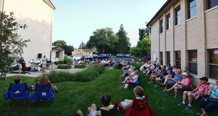 Courtyard Jazz at Pacific Hill Lutheran Church Omaha