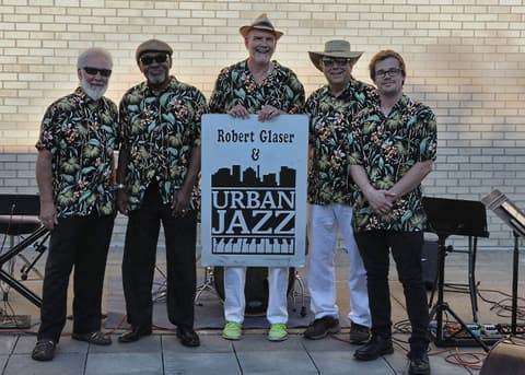 Robert Glaser and Urban Jazz at Pacific Hills Lutheran Church Courtyard Jazz