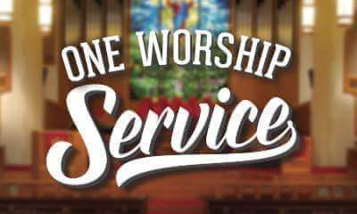5th Sunday, One Worship Service